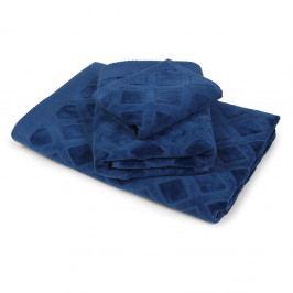 Osuška Charles modrá 70x140 cm Osuška
