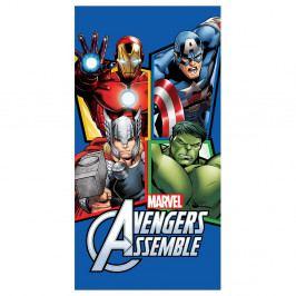 Dětská osuška Avengers 70x140 cm barevná