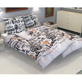 Povlečení Rock´N´Roll 140x200 jednolůžko - standard Bavlna