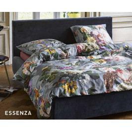 Povlečení Essenza Fleur Faded Blue 140x200 jednolůžko - standard Bavlněný satén