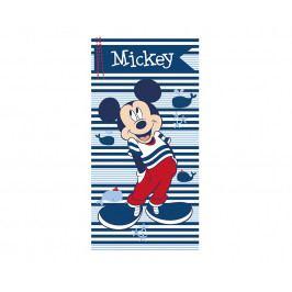 Dětská osuška Mickey Mouse modrý Osuška barevná
