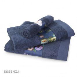 Ručník ESSENZA Fleur modrý 30x50 cm Ručník malý
