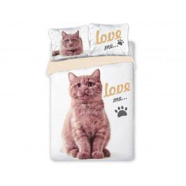 Povlečení Best Friends Cat 140x200 jednolůžko - standard bavlna