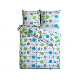 Povlečení Vital modrozelené 140x200 jednolůžko - standard Bavlna