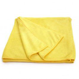Ryschleschnoucí osuška Fast Dry žlutá 70x140 cm Microfibra