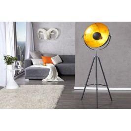 Stojací lampa PERSEUS -černá