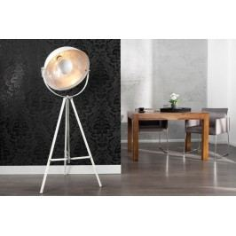 Stojací lampa PERSEUS - stříbrná