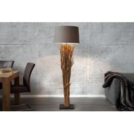Stojací lampa DELTA - béžová
