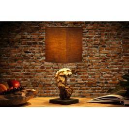 Stolní lampa CYGNUS II hnědá
