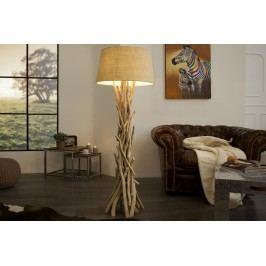 Stojací lampa CLARA 155 cm - přírodní