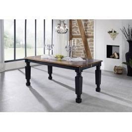 KOLONIAL jídelní  stůl 220x100cm lakovaný palisandr