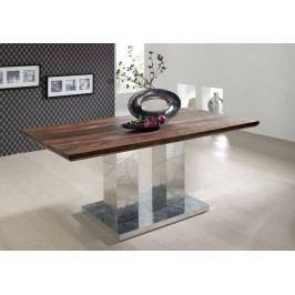 PLAIN SHEESHAM jídelní stůl 200x100 olejovaný indický palisandr, šedá