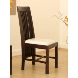 BANGALORE židle  bílé čalounění