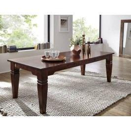 Kolonialer jídelní stůl 240x100 masivní akátové dřevo SUNO CAMBRIDGE #608