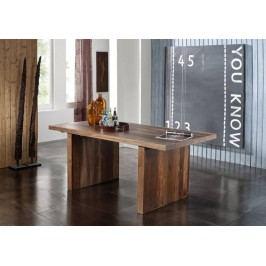 Sheesham jídelní stůl 160x90, masivní palisandrové dřevo BARON #103