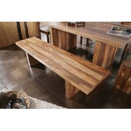 Sheesham lavice 200x45, masivní palisandrové dřevo BARON #108