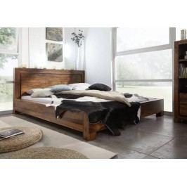 Masivní indický palisandr, postel 140x200 DAKOTA #135