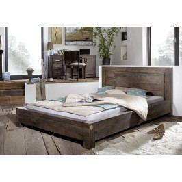Masivní indický palisandr, postel 160x200 MONTANA #136