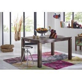 Sheesham jídelní stůl 140x90, masivní palisandrové dřevo MONTANA #153