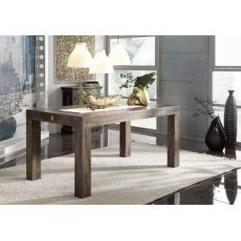 Sheesham jídelní stůl 160x90, masivní palisandrové dřevo CUBUS MONTANA #170