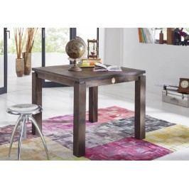 Sheesham jídelní stůl 90x90, masivní palisandrové dřevo MONTANA #151