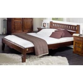 Koloniální postel 120x200 masivní akáciové dřevo CAMBRIDGE #227