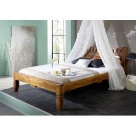 CAMBRIDGE HONEY # 222 postel 160x200 masiv akát, medový
