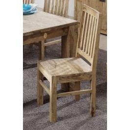 Sheesham židle, masivní palisandrové dřevo LIGHT WOOD #81