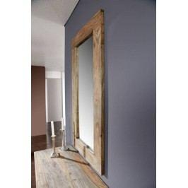 Sheesham zrcadlo, masivní palisandr GREY WOOD #01