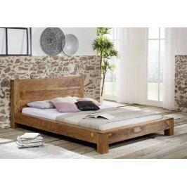 KOLINS postel akát, medová 180x200 cm