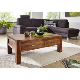 KOLINS konferenční stolek akát, medová 110x60 cm