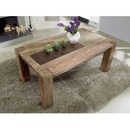 Sheesham jídelní stůl 220x100 , masivní palisandrové dřevo MAMMUT GREY WOOD #607