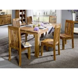 KOLINS jídelní stůl akát, medová 140x90 cm