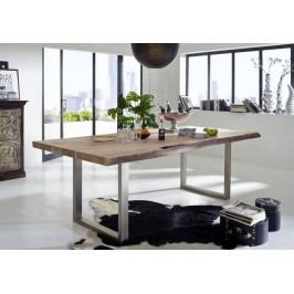 METALL stůl 170x110 akátový nábytek