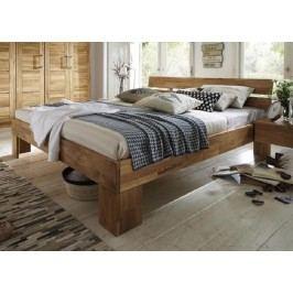 CLASSIC postel # 180 180x200, lakovaný přírodní masivní dub