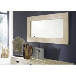 WHITE WOOD zrcadlo malovaný akátový nábytek
