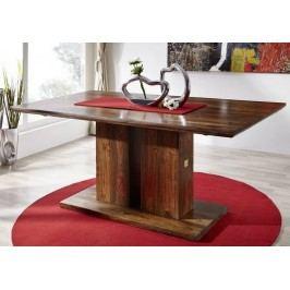 masivní indický palisandr, stůl 220x100 BARON #139