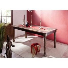COLORES jídelní stůl 180x90 lakované staré indické dřevo