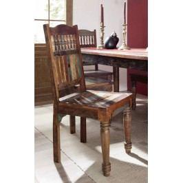 COLORES židle lakované staré indické dřevo