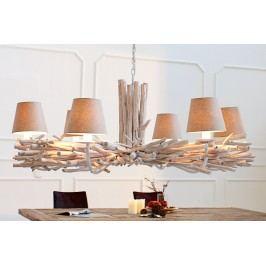 Závěsná lampa EUFORIA - béžová