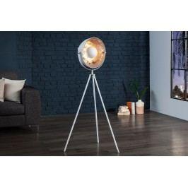 Stojací lampa SADO 140 cm - stříbrná