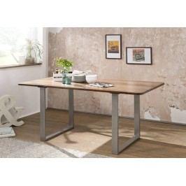 ROUND Jídelní stůl # 148 200x100cm, indický palisandr