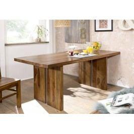 ROUND Jídelní stůl # 111 180x90cm Sheesham, indický palisandr