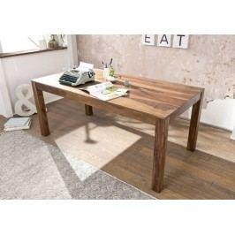 ROUND Jídelní stůl # 126 160x90cm, indický palisandr