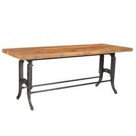 1920s SPECIAL Jídelní stůl 200x100 # 123 teak, litina