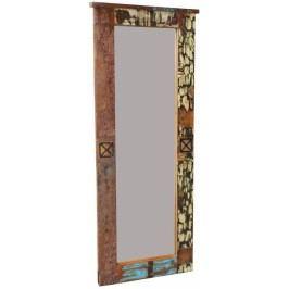 OLDTIME Zrcadlo # 112 indické staré dřevo, lakované