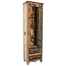 OLDTIME Skříň na věci # 109 indické staré dřevo, lakované
