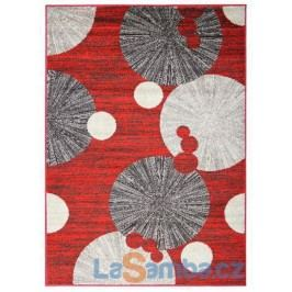 Kusový koberec Cosi 78028 Red - 140 x 190 cm