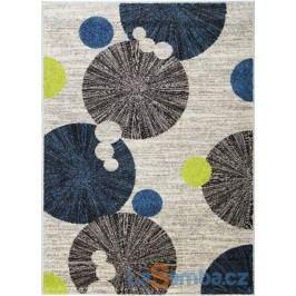 Kusový koberec Cosi 78028 Ivory/Green/Blue - 120 x 170 cm