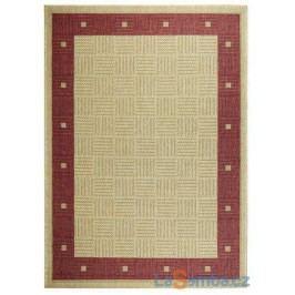 Kusový koberec Sisalo/Down 879/J84 Red - 160 x 230 cm